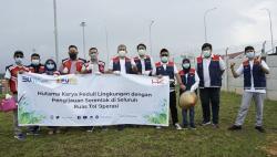 Usai Tanam Pohon, Seluruh Karyawan HK Cabang Tol Permai Divaksin