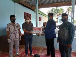 Bupati Siak Serahkan Bantuan 205 Paket Sembako dari PT IKS untuk Warga
