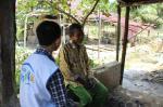 Potret Kehidupan Gatot, Tinggal Sebatang Kara di Gubuk Kebun Sawit