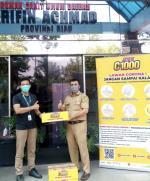 PT Bintang Toedjoe Bagikan Jos C 1000 Dukung Nakes Covid-19 di RSUD Arifin Ahmad