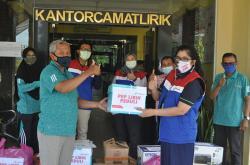 Pertamina EP Lirik Field Salurkan Bantuan Penanganan Covid-19