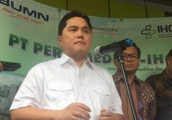 Erick Tegaskan Akun 'Erick Thohir for President' Palsu!