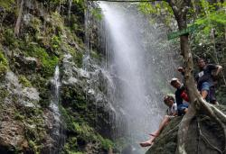 Nikmati Keasrian Air Terjun Batang Koban di Kuansing