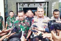 Bentrokan TNI-Polri di Taput Berakhir Damai