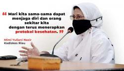 Kasus Harian Riau Nomor 2 di Indonesia