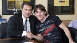 Jika Terpilih Jadi Presiden Barcelona, Laporta Akan Pertahankan Messi