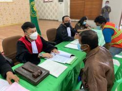 Puluhan Pelanggar Prokes di Bengkalis Pilih Didenda dan Hukuman Sosial