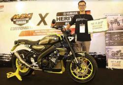 Yamaha XSR155, Motor Sport Heritage untuk Modifikasi