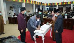 RAPBD 2021 Diserahkan ke Pemprov Riau
