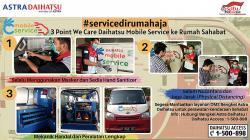 Daihatsu Tawarkan Servis Mobil di Rumah