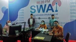 BPJS Kesehatan Inhu Sosialisasikan JKN-KIS di Radio SWAI FM