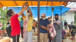 Di Inhu, 2.938 ekor Hewan Kurban Disembelih