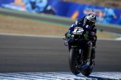 Bintang Yamaha Merajalela saat Latihan di MotoGP Andalusia
