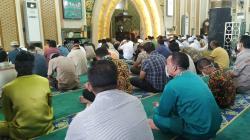 Gelar Salat Jumat, Masjid Ar Rahman Pekanbaru Terapkan Protokol Kesehatan