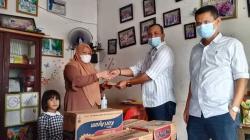 Serikat Buruh PTPN V Salurkan Sembako