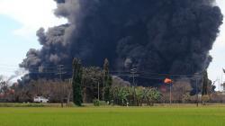 Polisi: Kilang Balongan Terbakar karena Pipa Bocor