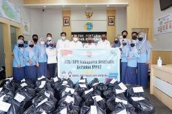 BPN Kabupaten Bengkalis dan IPPAT Peduli Covid-19