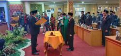 DPRD Lantik H Indra Mansyur Sebagai Anggota PAW