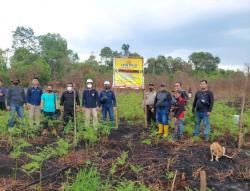 Diduga Bakar Lahan untuk Kebun Jagung, Kakek di Inhil Ditangkap