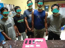 Polres Kuansing Ciduk Komplotan Pengedar Narkoba
