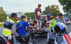 Remaja Terjaring Patroli Gabungan saat Balap Liar