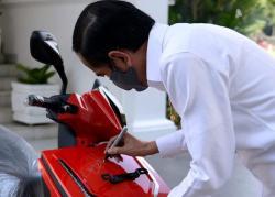 Pemenang Lelang Motor Listrik Jokowi Ditangkap