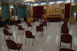 Gubernur dan Wakil Tidak Divaksin, Plh Sekdaprov Riau Disuntik Pertama