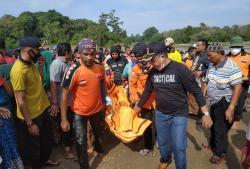 Tenggelam di Sungai Indragiri, Adik Camat Peranap Ditemukan Meninggal