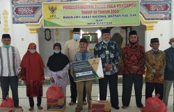 250 Paket Sembako Baznas Disalurkan Bupati