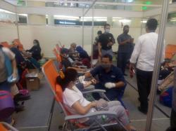 IKPTB dan Komunitas Jumat Berkah Kumpulkan 370 Kantong Darah