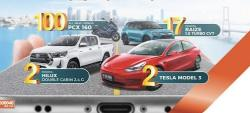 Undian Rejeki BNI Point, Hadiahnya dari Mobil Tesla hingga Belasan Toyota Raize