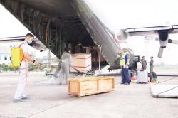 Bantuan 3.000 APD dari Pusat Tiba