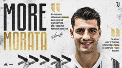 Morata Resmi Kembali ke Juventus