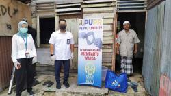 SNVT Penyediaan Perumahan Provinsi Riau Salurkan Paket Sembako