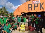 RMB-LHMR Siak Bantu Korban Kebakaran