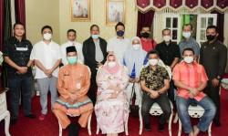 Maju Pemilihan Ketum HIPMI Riau, Erwin Edison Kunjungi Bupati Bengkalis
