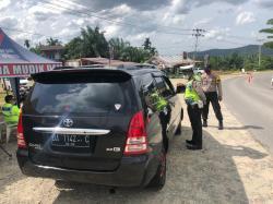 Perbatasan Riau-Sumbar Dijaga Ketat di XIII Koto Kampar