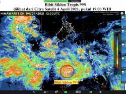 BMKG: Siklon Tropis Seroja Diprediksi Meningkat, Begini Keganasannya