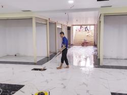 Hujan, Kios STC Tergenang