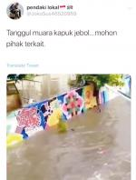 Tanggul Jebol di Tangerang, Disebut di Jakarta