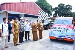 20.291 KPM di Bengkalis Terima Bantuan Beras PPKM