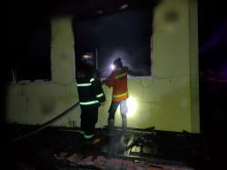 Labor SMA N 6 Mandau Terbakar, Kerugian Capai Rp800 Juta