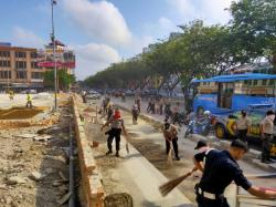 Antisipasi Penyebaran Virus Corona, Polresta Pekanbaru Gotong Royong