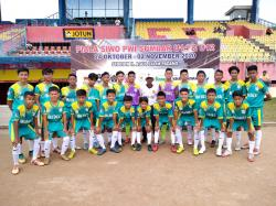 Menang Telak, Bina Bakat FC Tekuk WN Sijunjung 4-0