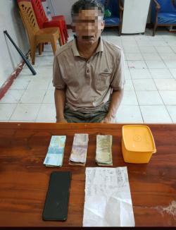 Polisi Amankan Agen Judi Togel di Duri