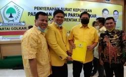 Kantongi SK Golkar, Andi-Suhardiman Pasangan Pertama Penuhi Syarat Maju Pilkada Kuansing