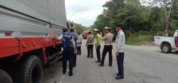 Di Kuansing, 19 Kendaraan ODOL Terjaring Penertiban