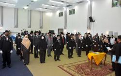 Bupati Bengkalis Lantik 38 Pejabat Pengawas