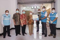 PLN Salurkan Bantuan Oksigen ke Sejumlah RS di Jateng