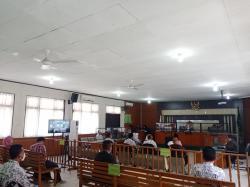 Lima Kasek Bersaksi di Pengadilan